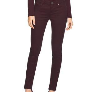 WHBM Skinny Zip Ankle Jeans
